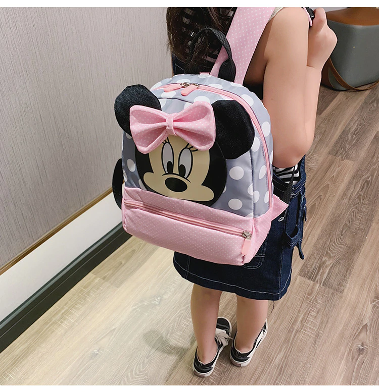 2019 Mickey&Minnie Children Backpacks kindergarten Schoolbag Kids Backpack Children School Bags Baby Girls Boys Backpacks