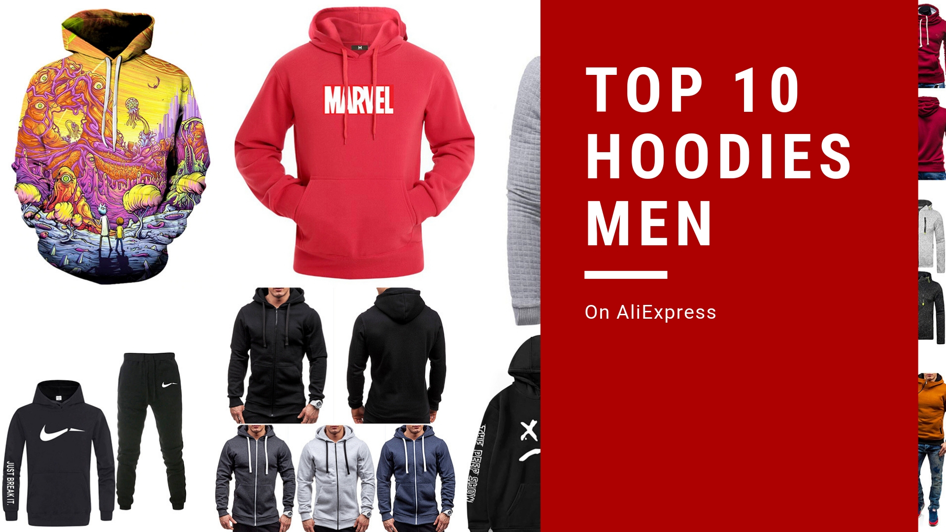 Hoodies Men Top Ten (Top 10) on AliExpress
