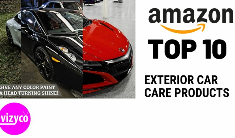 Exterior Car Care Products | Top 10 Best-Selling on Amazon