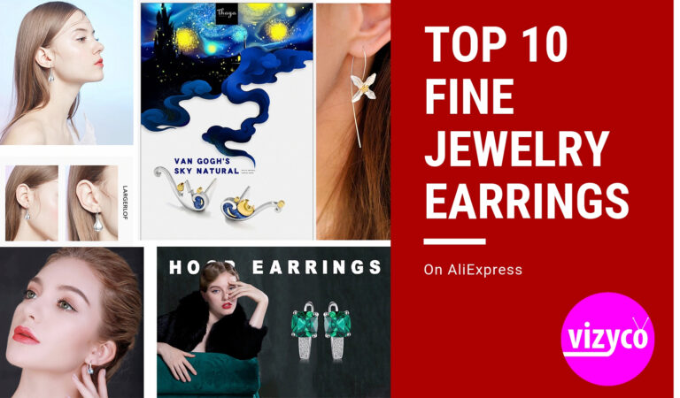 Fine Jewelry Earrings Top Ten (Top 10) on AliExpress