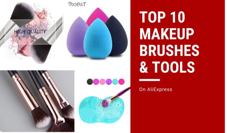 Makeup Brushes & Tools Top Ten (Top 10) on AliExpress