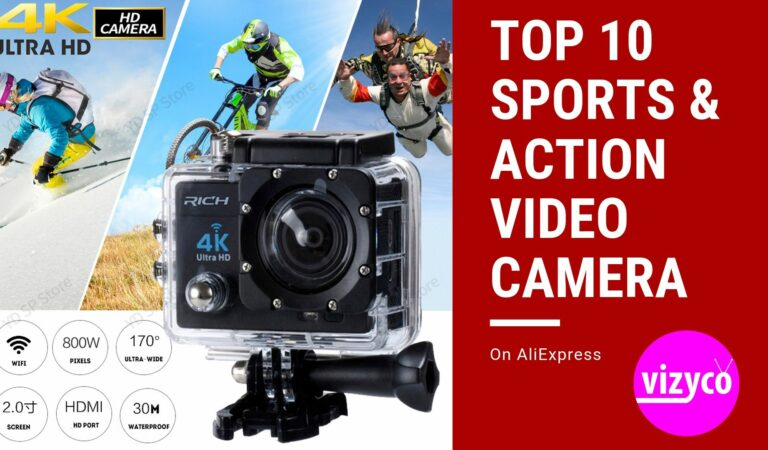 Sports & Action Video Camera Top Ten (Top 10) on AliExpress