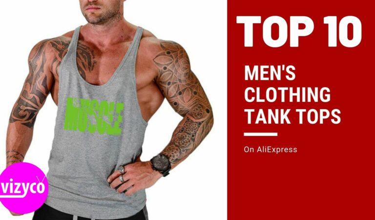 Men's Tank Tops AliExpress Top 10 on Men's Clothing