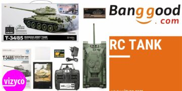 Top 10 Popular Best Products RC Tank on Banggood