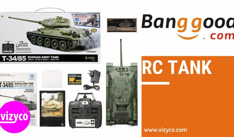 RC Tank on Banggood Top 10 Popular Best Products