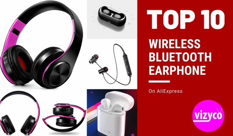 Wireless Bluetooth Earphone  AliExpress Top 10