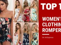 Women's Clothing Rompers Top 10 on AliExpress