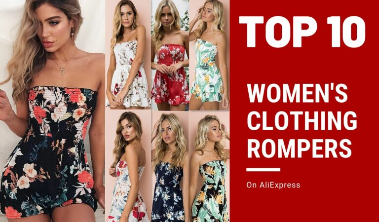 Rompers AliExpress Women's Clothing Top 10