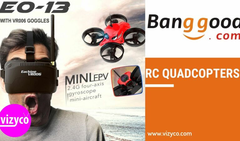 RC Quadcopters on Banggood / AliExpress Top 10 Best Products