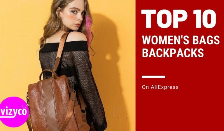 Women's Bags Backpacks Top 10! on AliExpress