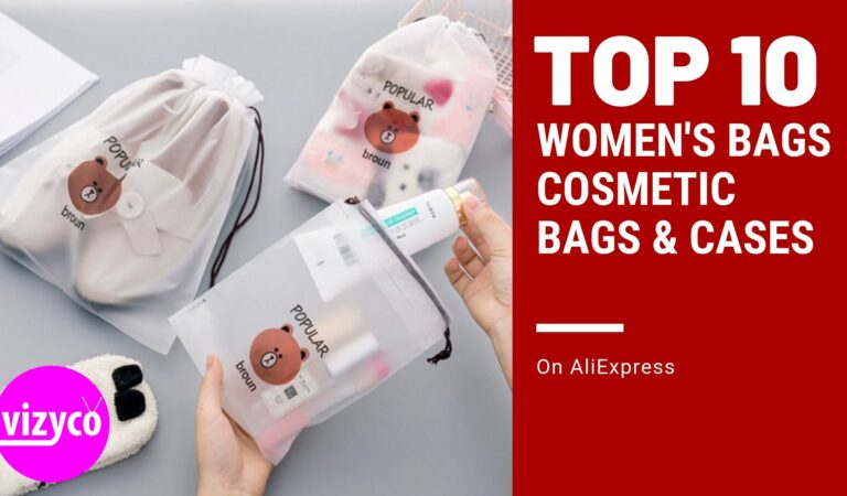 Cosmetic Bags and Cases Top 10! Women's Bags on AliExpress