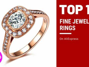 Fine Jewelry Luxury Rings on AliExpress