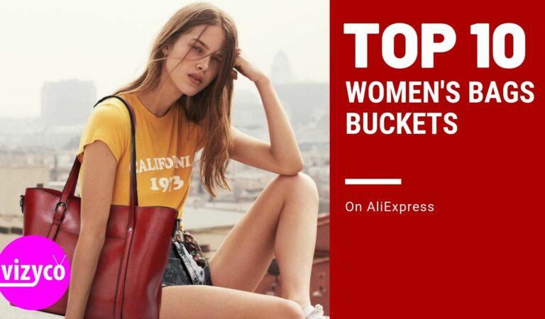 Bucket Bags Top 10! Women's Bags on AliExpress