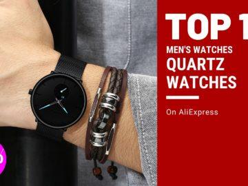 List of Top 10! Quartz Watches Men's Watches on AliExpress