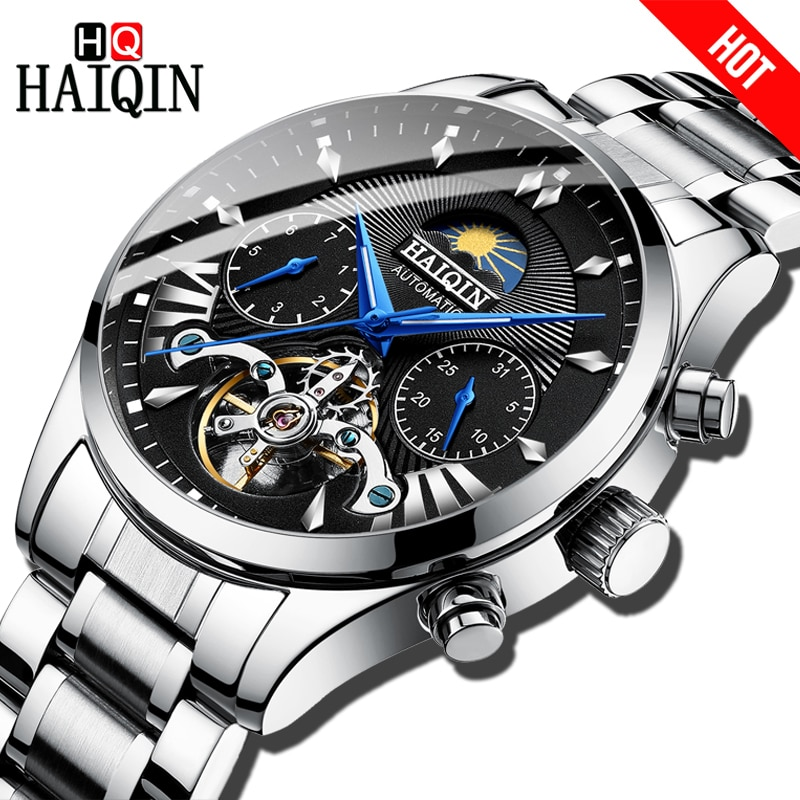 men's/mens watches top brand luxury automatic/mechanical/luxury watch men sport wristwatch mens reloj hombre tourbillon
