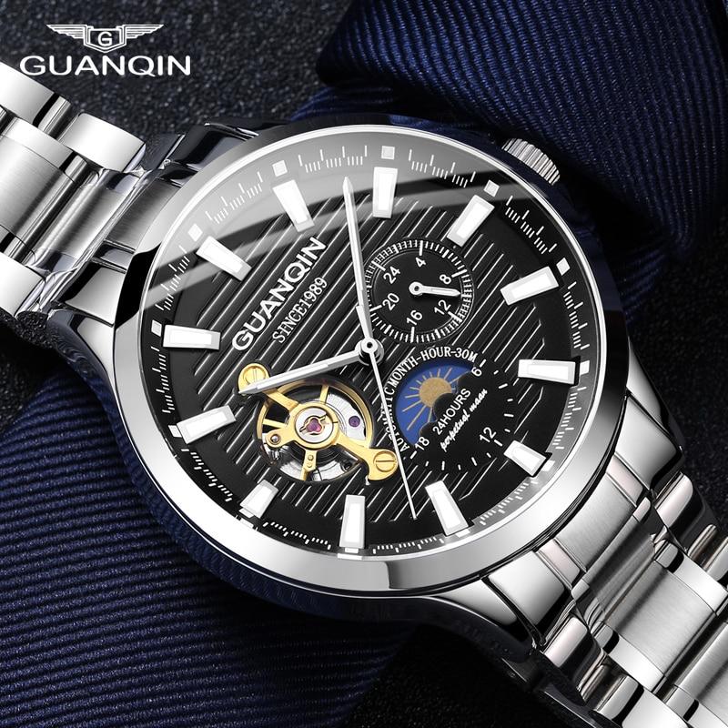 business watch men Automatic Luminous clock men Tourbillon waterproof Mechanical watch top brand relogio masculino