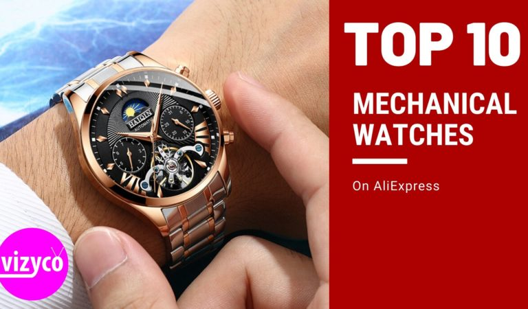 Top 10! Mechanical Watches Men's Watches on AliExpress