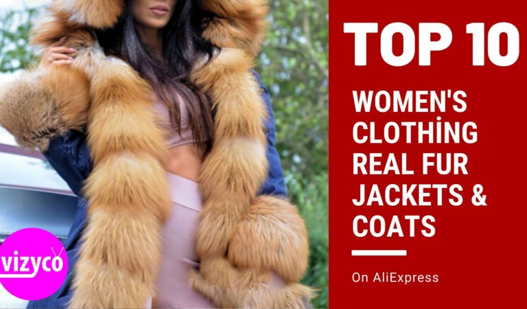 Women's Clothing Real Fur Jackets & Coats Top 10! on AliExpress