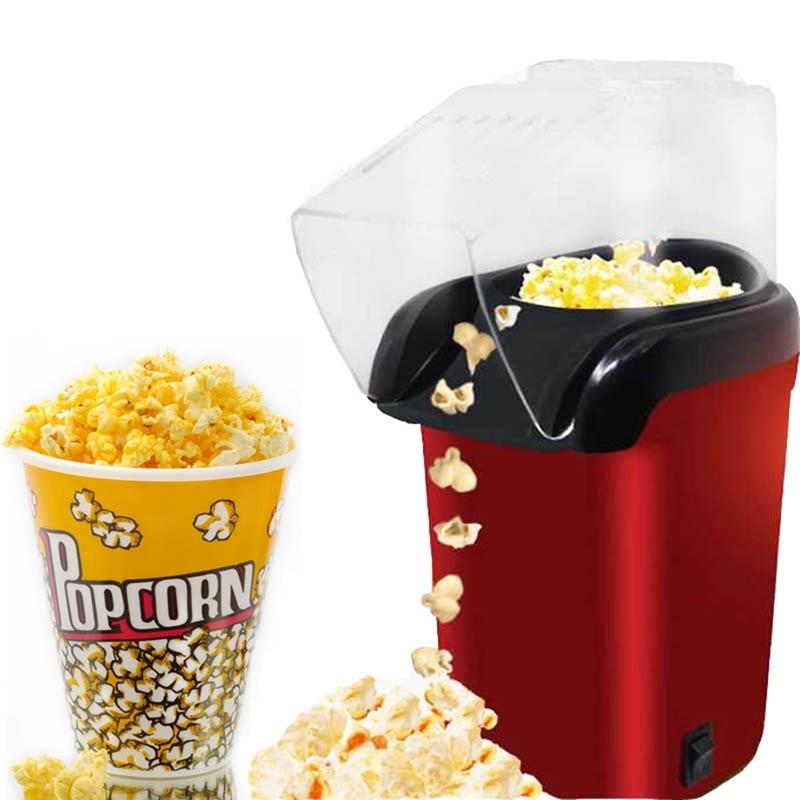 Mini Household Healthy Hot Air Oil-Free Popcorn Maker Machine Corn Popper For Home Kitchen Mini Popcorn Maker Machine