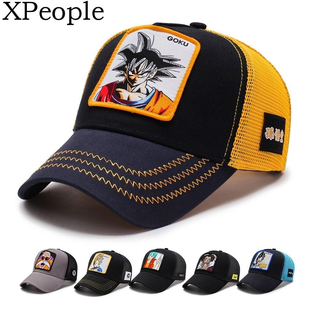 Hat for Dragonball Dragon Ball Z DBZ Anime Fan Cosplay Costume Snapback Cap Hip Hop Hat