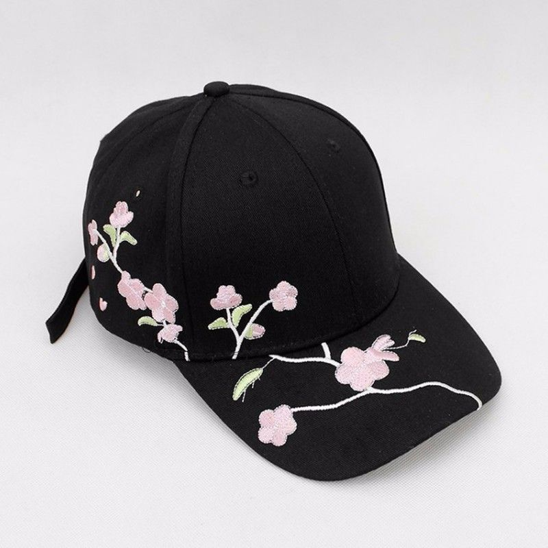 Cotton Outdoor Baseball Cap Plum embroidery Embroidery Snapback Fashion Sports Hats For Men & Women Cap