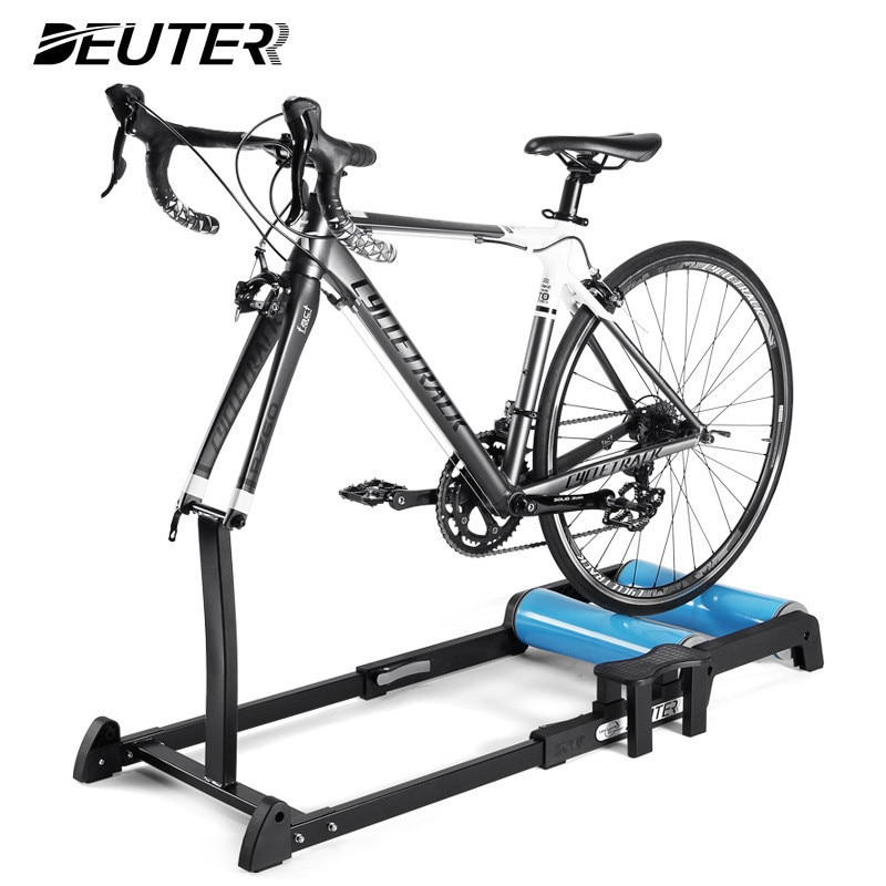 Bike Trainer Rollers Indoor Home Exercise Cycling Training Fitness Bicycle Trainer for 24 - 29 inch 700C MTB Road Bike Ro