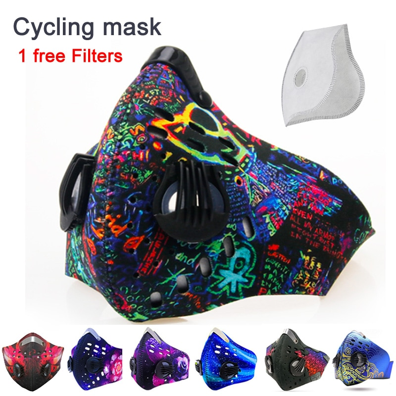 Anti Dust Mask for Mouth pm2.5 Dust Respirator Wholesale Breath anti odor pollution running sports maska