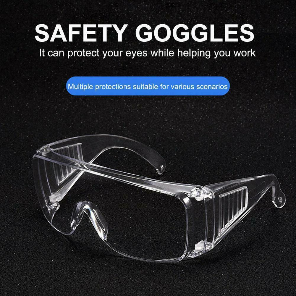 Goggles Eye Protection Safety Glasses for Medical Industrial Laboratory Work