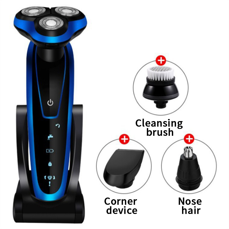 Whole 3in1 New body wash electric shaver for men electric razor USB rechargeable shaving machine barbeador shaving beard knife
