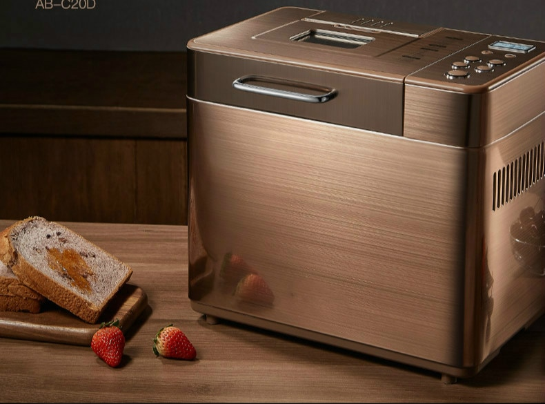 Bread machine The bread maker USES fully automatic and multifunctional intelligence sprinkled with fruit cake