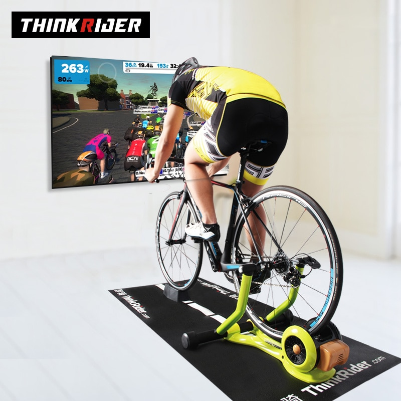 Thinkrider X3 Bike Trainer Home Exercise Training Indoor Smart Bicycle Trainer Power Meter MTB Cycling For PowerFun Zwift Onelap
