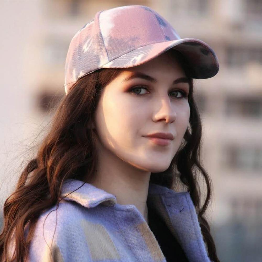 New Fashion Tie-Dye Baseball Cap Spring Men Women Trend Lovers Colorful Snapback Hat Outdoor Adjustable Sun Graffiti Bone