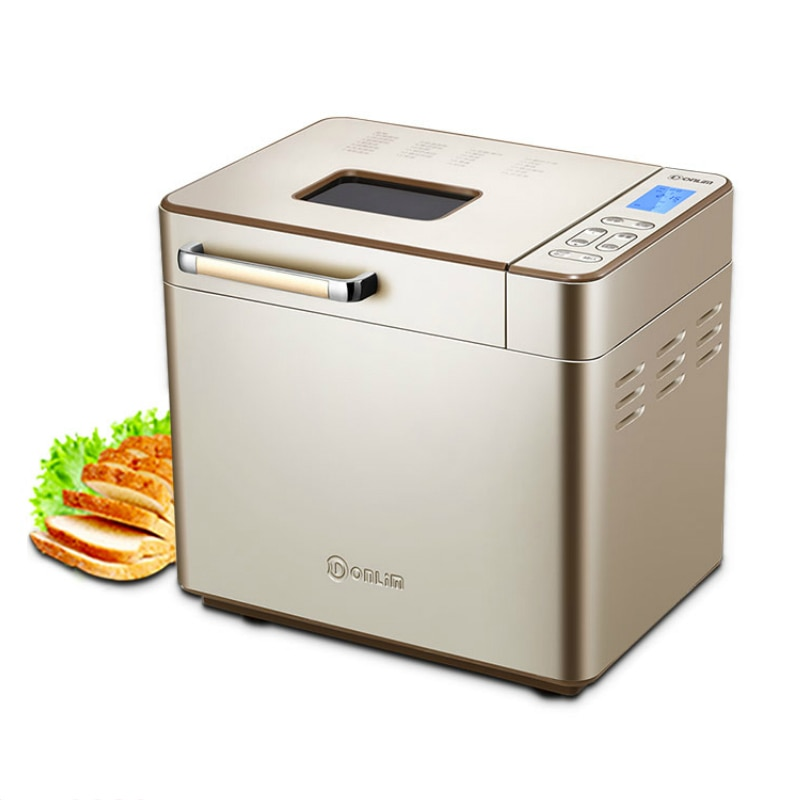Bread Machine LCD Fully Automatic Small Multi-function Intelligent Bread Maker Ferment Flour Maker DL-TM018 Toaster Bread