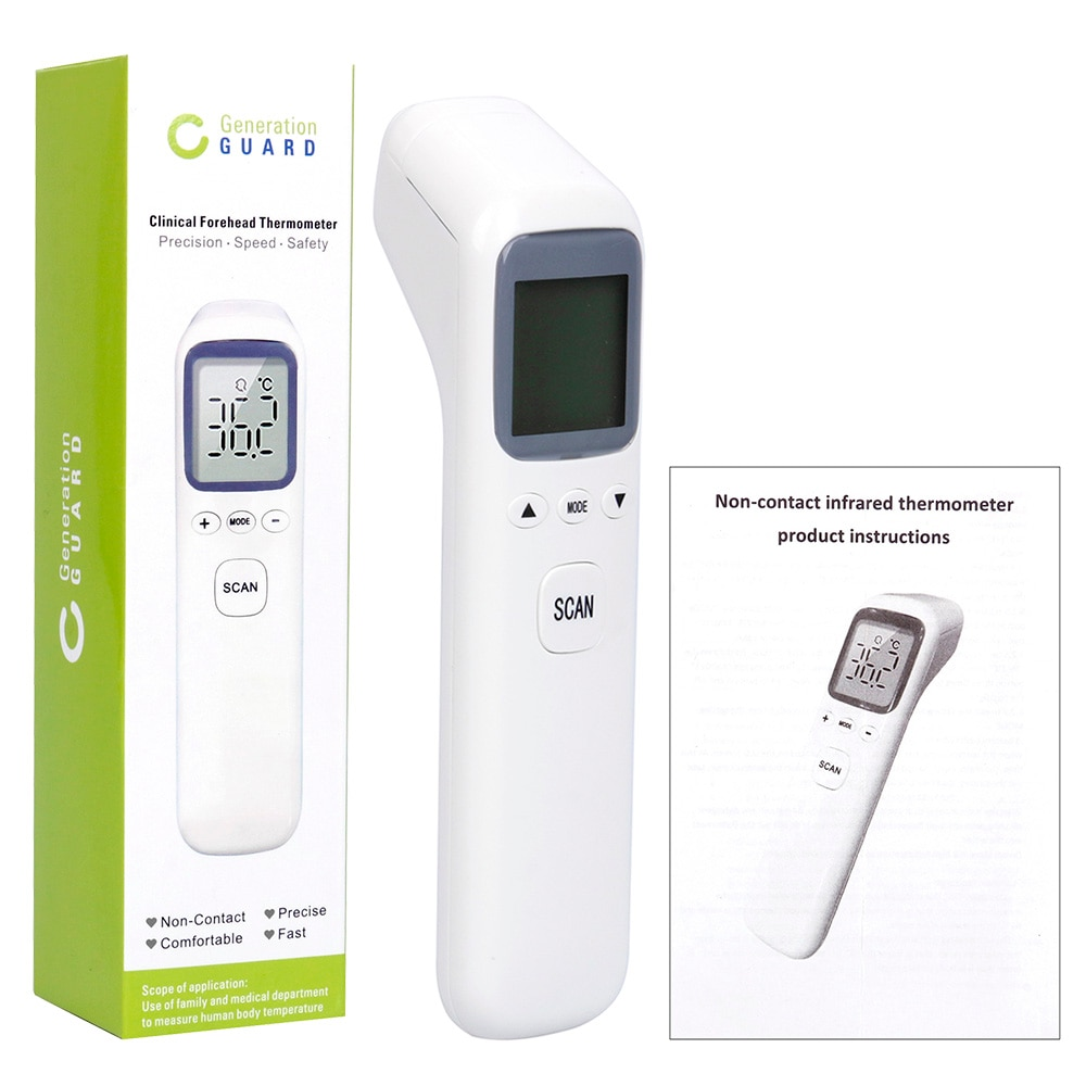 Forehead Infrared Thermometer Baby Non Contact Digital LCD Display Electronic Baby Contactless Body Thermometer Forehead