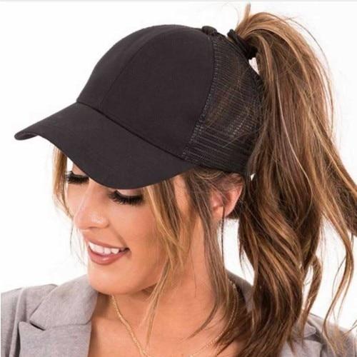 Baseball Caps Sequins Shining High Quality Fashion Womens Messy Bun Adjustable Snapback Hip Hop Hat