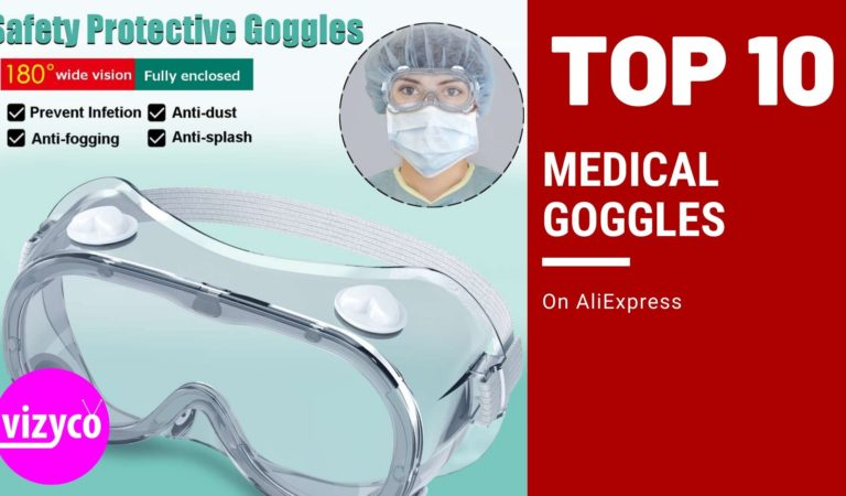 Top 10! Medical Goggles on AliExpress