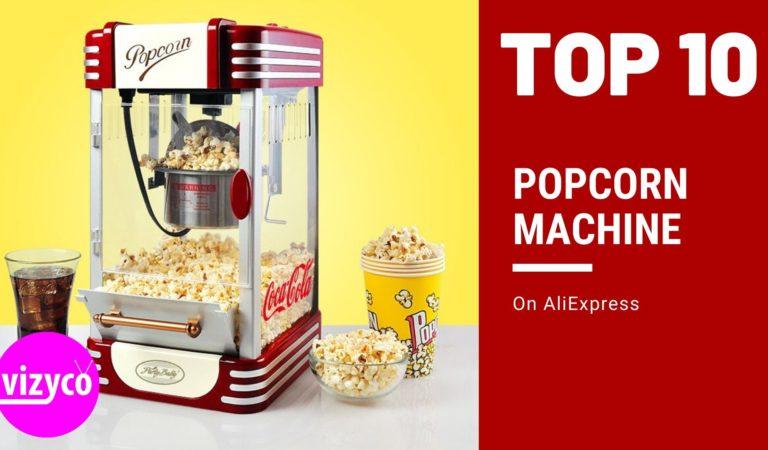 Top 10! Popcorn Machine on AliExpress