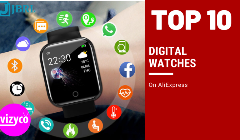 Digital Watches Top 10!  on AliExpress