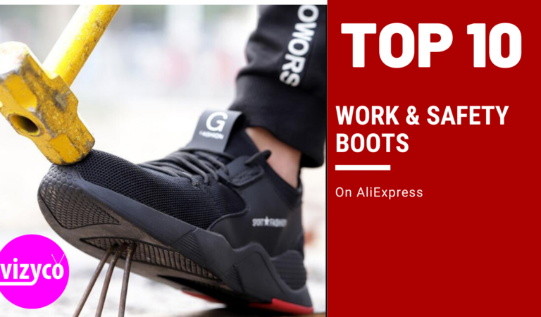 Work & Safety Boots Top 10!  on AliExpress