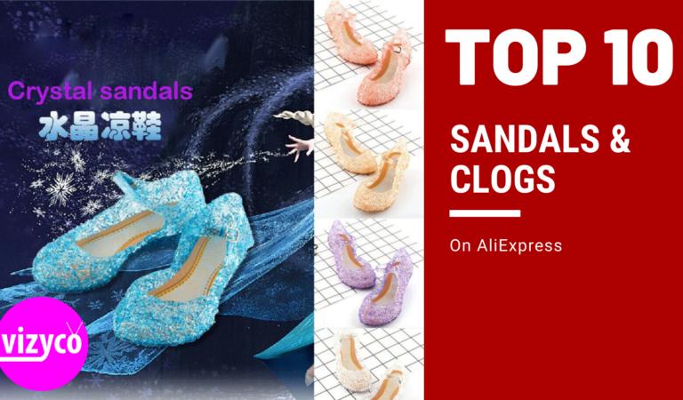 Sandals & Clogs Tops 10!  on AliExpress