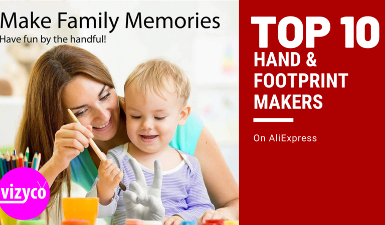 Hand & Footprint Makers Tops 10!  on AliExpress