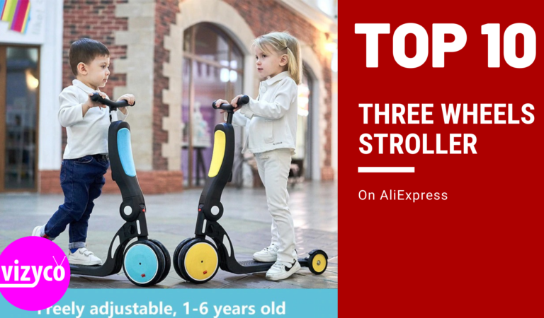 Three Wheels Stroller Tops 10!  on AliExpress