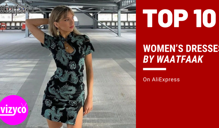 Women's Dresses by Waatfaak Tops 10!  on AliExpress