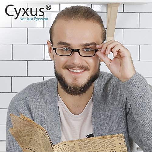 Cyxus Cateye Blue Light Blocking Reading Glasses for Women Men, Computer Readers Eye Strain Headache
