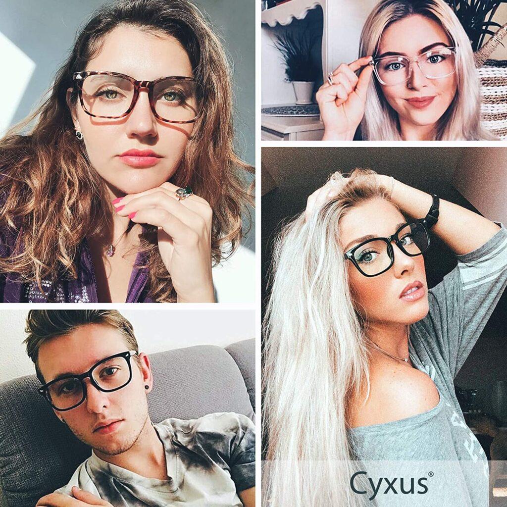 Cyxus Blue Light Glasses Computer Glasses HEV-Absorbed UV Blocking Eyeglasses