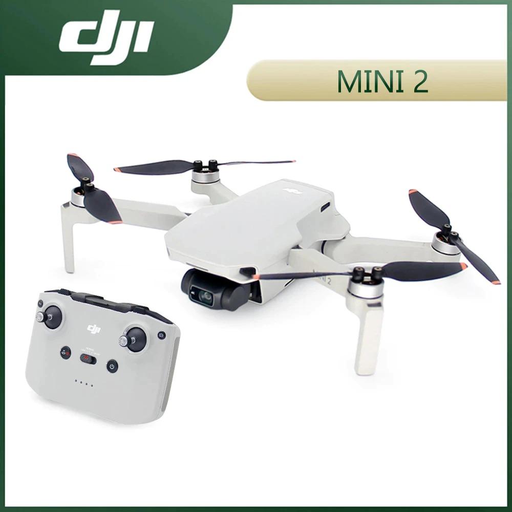 DJI Mavic Mini 2 Drones 4K Camera RC Helicopter Professional GPS Quadcopter 4x Zoom 249g Ultralight 10km Transmission