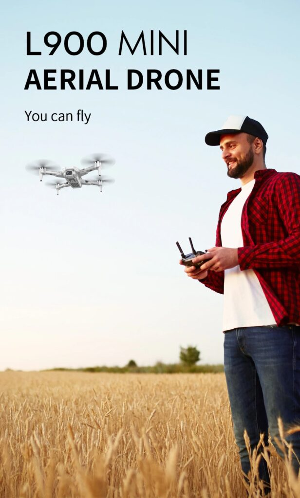L900PRO GPS Drone 4K Dual HD Camera Professional Aerial Photography Brushless Motor Foldable Quadcopter RC Distance 1200M