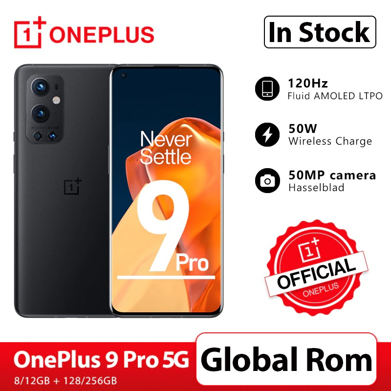 OnePlus 9 Pro 5G Smartphone 8GB 128GB Snapdragon 888 120Hz Fluid Display 2.0 Hasselblad 50MP Ultra-Wide OnePlus Official Store