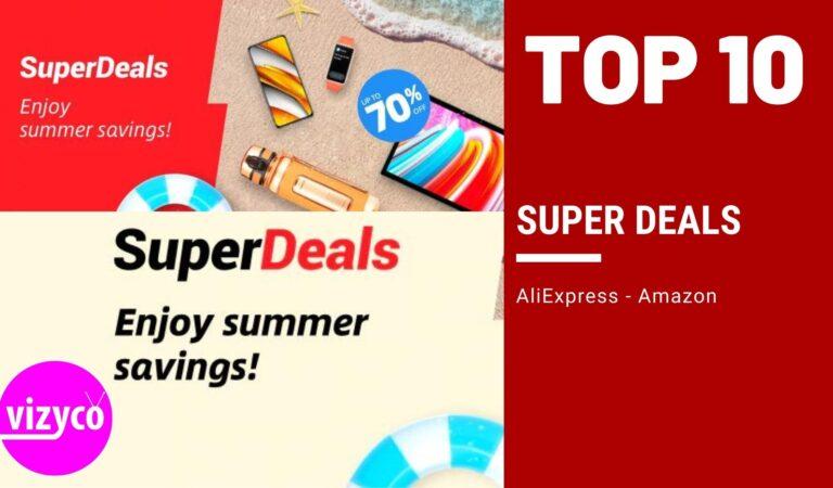 Super Deals AliExpress Top 10 – Enjoy Summer Savings August