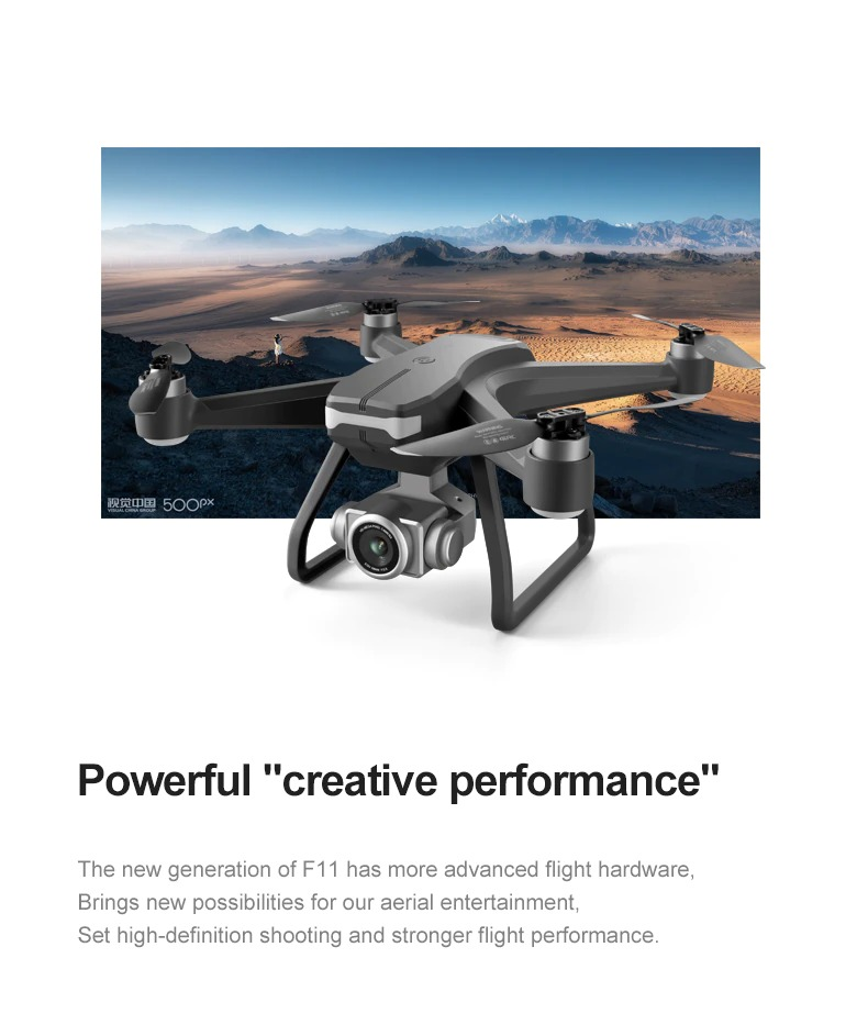 F11 PRO GPS Drone 4K 6K Dual HD Camera Professional Aerial Photography Brushless Motor Super Deals AliExpress Top 10